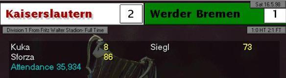 2-1 Werder