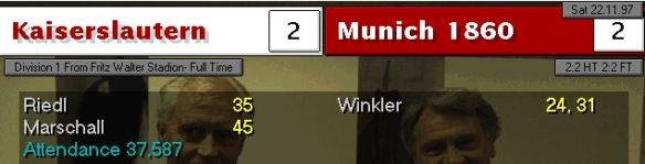 2-2 1860 munich