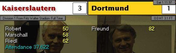 3-1 dortmund