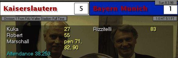 5-1 bayern home