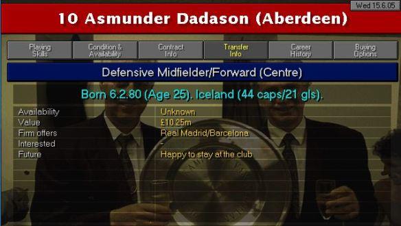 Dadason career