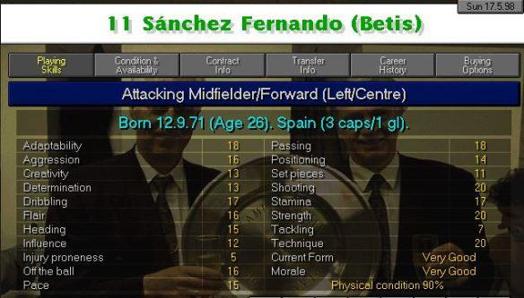 Fernando start