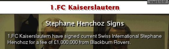 Henchoz signs