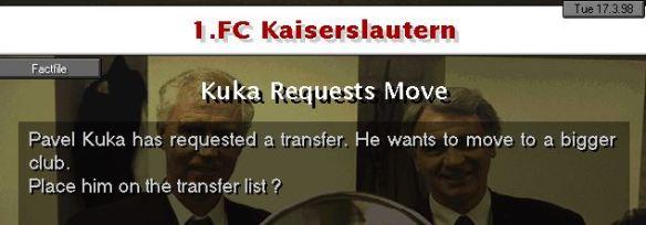 Kuka request