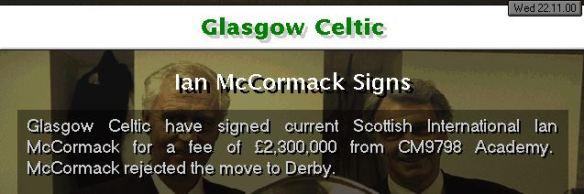 McCormack Celtic