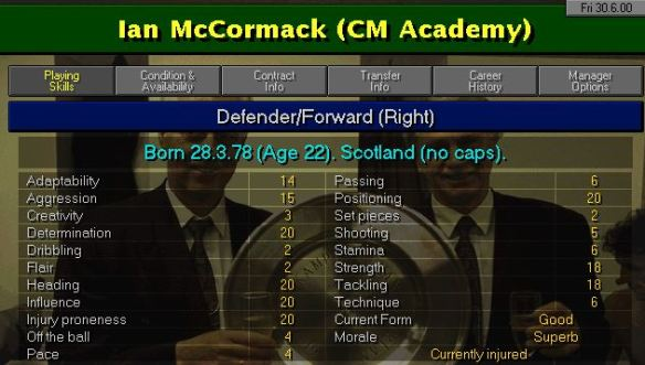 mccormack signs