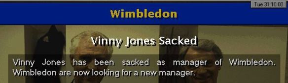 vinny jones sacked