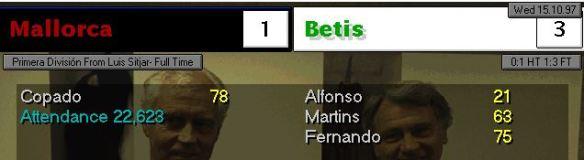 3-1 Mallorca