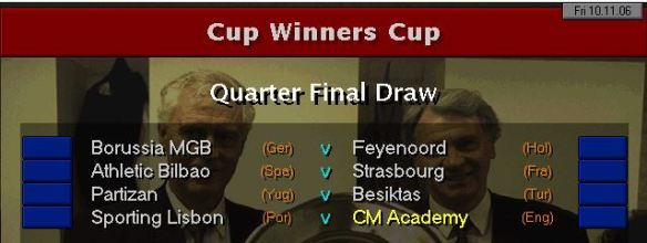 CWC QF draw S10