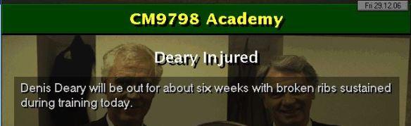 Deary 6 weeks