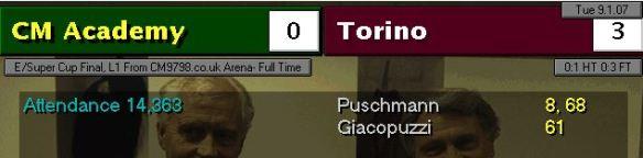 torino 0-3