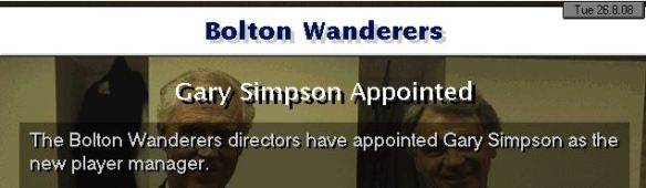 Simpson player manager
