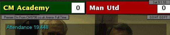 0-0 man utd S13