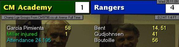 1-4 Rangers
