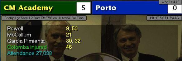 5-0 Porto