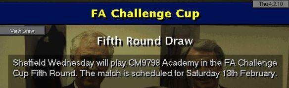 5th round draw