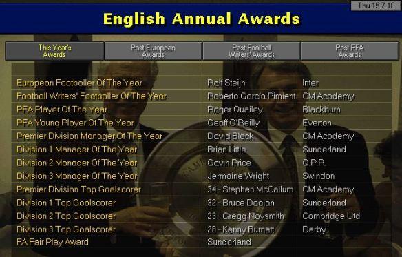 Awards S13