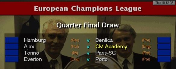 CL QF draw S13