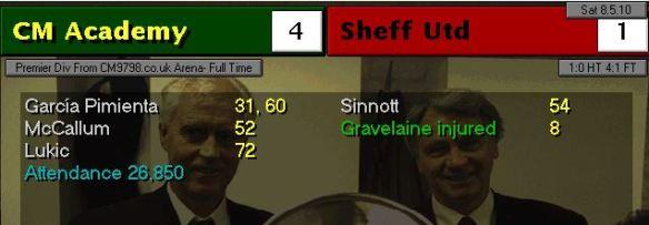 Sheff Utd 4-1 S13