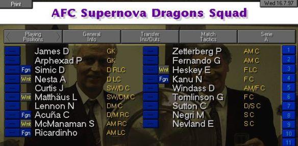 Supernova Dragons