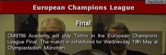 Torino CL final