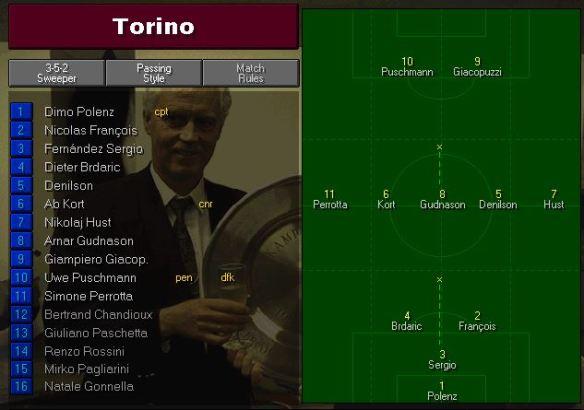 Torino team