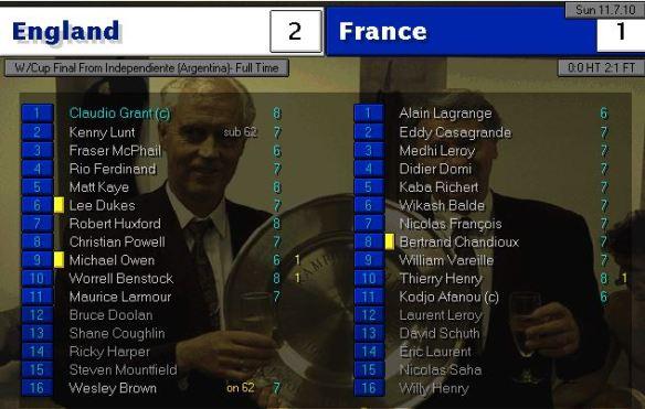 WC Final 2010