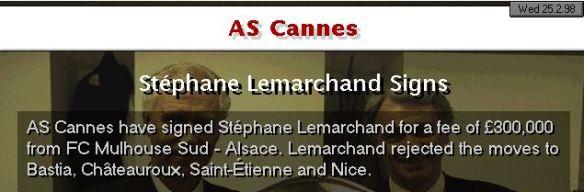 Lemarchand sold