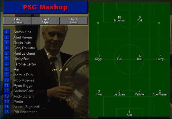 PSG tactics