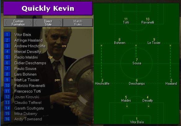 QK tactics vs RM