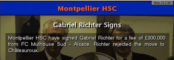 Richter sold
