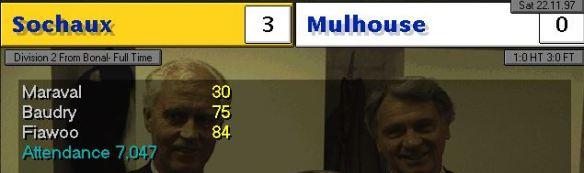 Sochaux 3-0