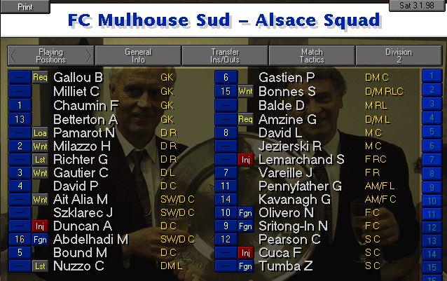 Squad January