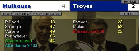 Troyes cup