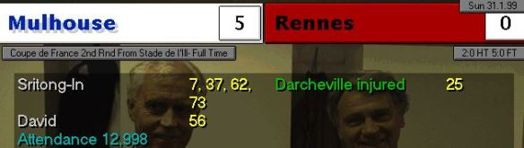 5-0 rennes
