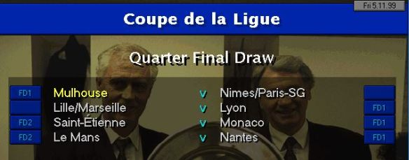 Cup QF draw