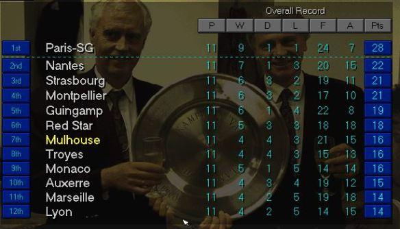 ligue 1 top November S3