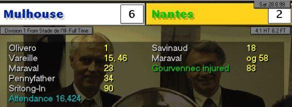 Nantes 6-2