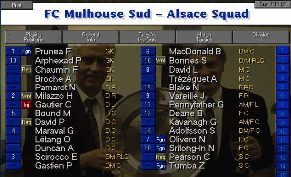 Squad Nov S3