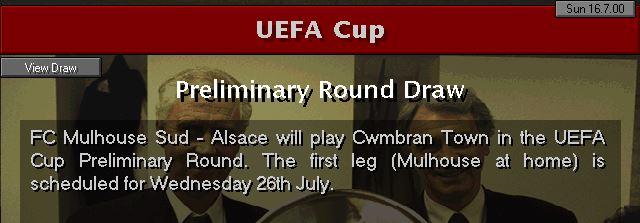UEFA draw