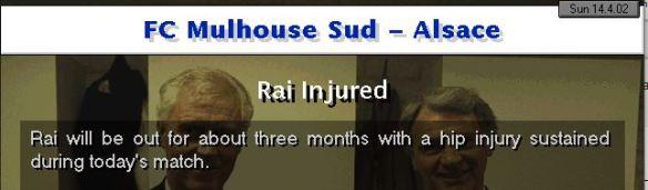 Rai done