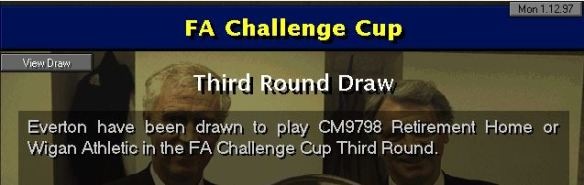Everton cup draw