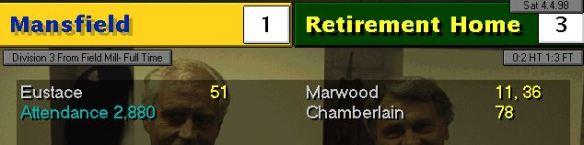 Manfield away