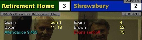 Shrews 3-2