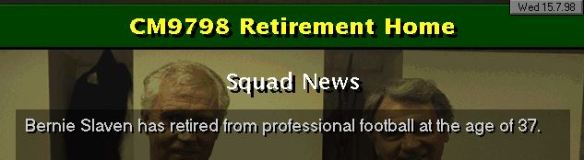 Slaven retires