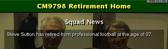 SUtton retires