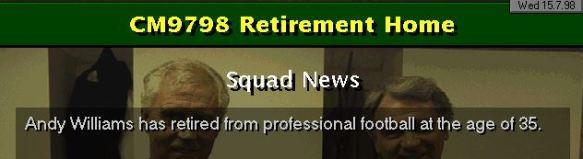 Williams retires