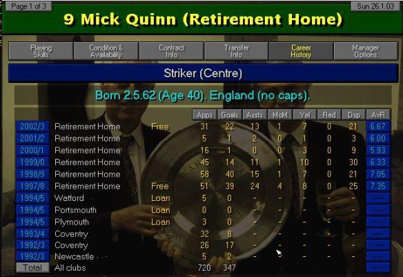 Quinn history
